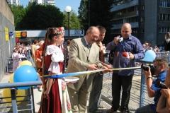 Uroczystość otwarcia MDK przy ul. Tysiąclecia 5