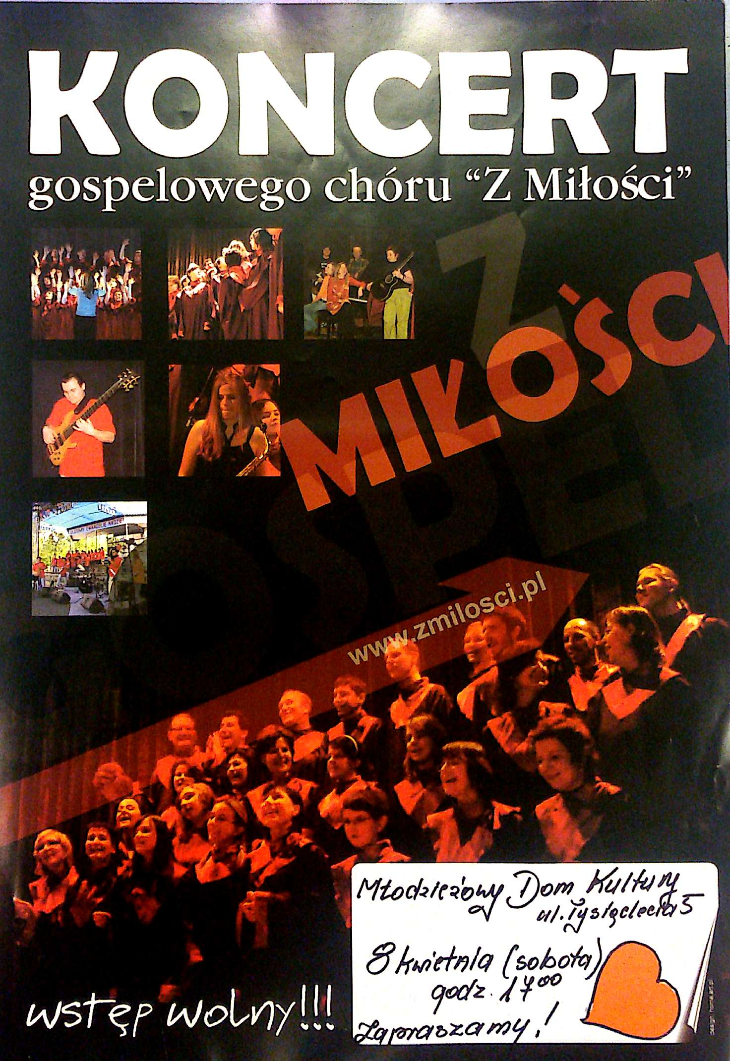 Najbliższe koncerty: 7 i 8 kwietnia 2017 r. w Chorzowie i Katowicach