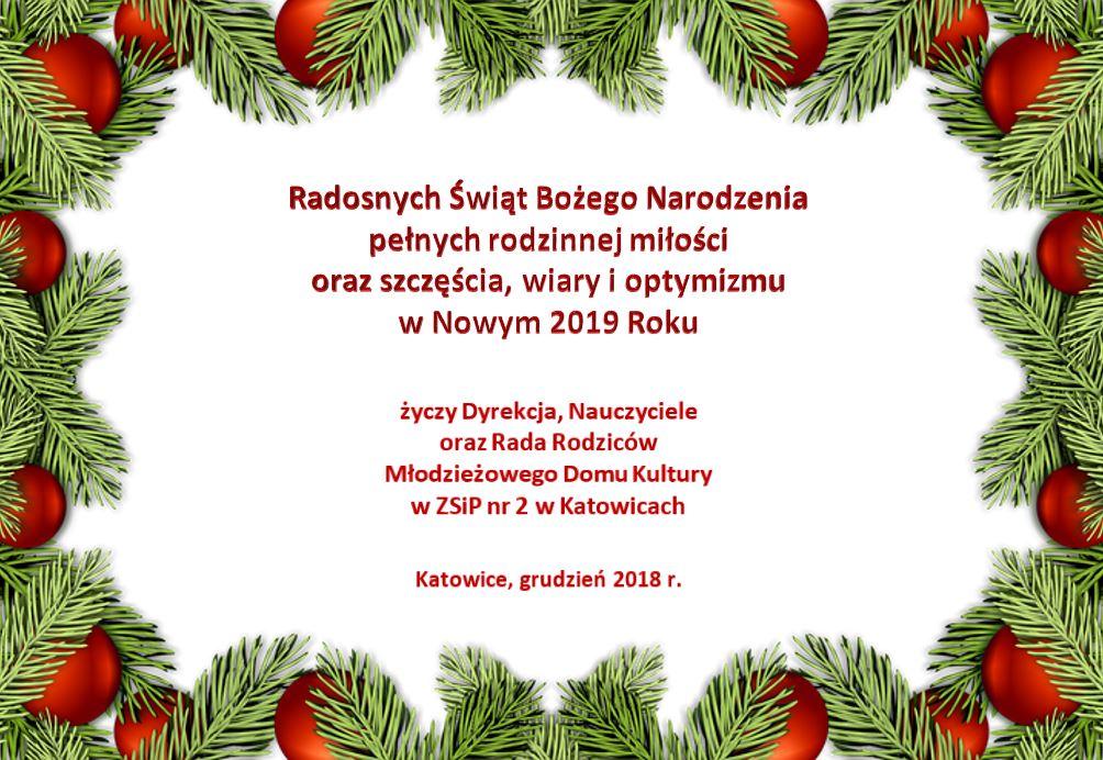 Życzymy spokojnych świąt!